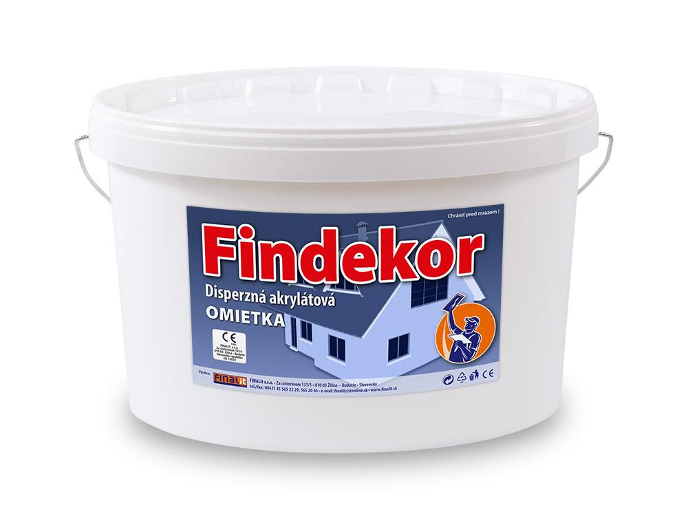 Disperzná akrylátová omietka Findekor