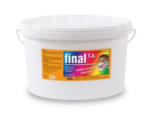 Fasádna akrylátová farba Final FA