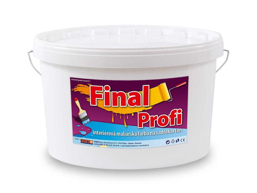 d454c27cb53f Interiérová farba na sadrokartón Final Profi